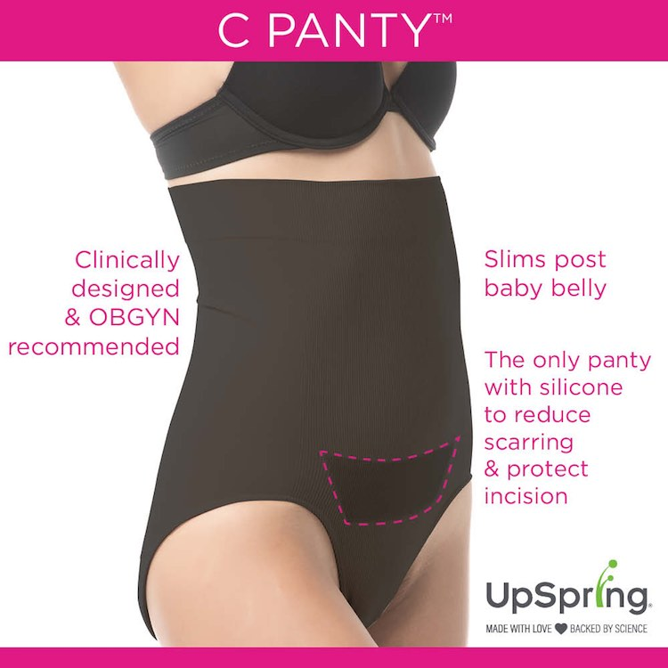 Upspring C Panty C Section Underwear With C Section Scar Care For Cesarean Recovery High Waist Recovery Panty