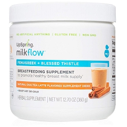 Milkflow Fenugreek + Blessed Thistle Chai Tea Latte Powder Drink Mix