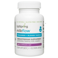 Milkflow Fenugreek + Blessed Thistle Capsules (60 Count)