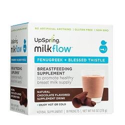 Milkflow Fenugreek + Blessed Thistle Powder Drink Mix (Chocolate)